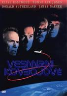 Space Cowboys - Czech DVD movie cover (xs thumbnail)