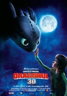 How to Train Your Dragon - Romanian Movie Poster (xs thumbnail)