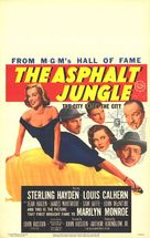 The Asphalt Jungle - Theatrical movie poster (xs thumbnail)