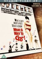 What a Way to Go! - British Movie Cover (xs thumbnail)