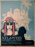 Atlantide, L' - Norwegian Movie Poster (xs thumbnail)