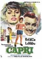 It Started in Naples - Spanish Movie Poster (xs thumbnail)