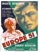 Europa '51 - French Movie Poster (xs thumbnail)