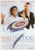 Wag The Dog - German Movie Poster (xs thumbnail)