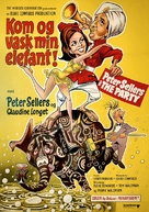The Party - Danish Movie Poster (xs thumbnail)