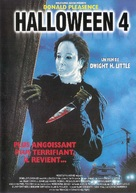 Halloween 4: The Return of Michael Myers - French DVD movie cover (xs thumbnail)