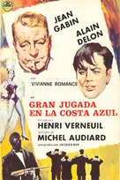 Mélodie en sous-sol - Spanish Movie Poster (xs thumbnail)