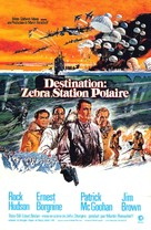 Ice Station Zebra - French Movie Poster (xs thumbnail)