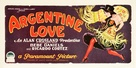Argentine Love - Movie Poster (xs thumbnail)