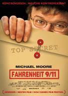 Fahrenheit 9/11 - German Movie Poster (xs thumbnail)