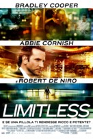 Limitless - Italian Movie Poster (xs thumbnail)