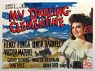 My Darling Clementine - British Movie Poster (xs thumbnail)