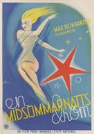 A Midsummer Night's Dream - Swedish Movie Poster (xs thumbnail)