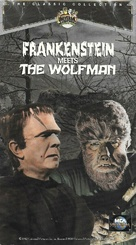 Frankenstein Meets the Wolf Man - VHS movie cover (xs thumbnail)