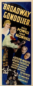 Broadway Gondolier - Movie Poster (xs thumbnail)