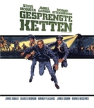 The Great Escape - German Blu-Ray cover (xs thumbnail)