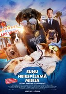 Show Dogs - Latvian Movie Poster (xs thumbnail)