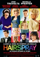 Hairspray - Argentinian Movie Poster (xs thumbnail)