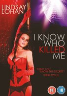 I Know Who Killed Me - British DVD cover (xs thumbnail)