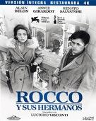 Rocco e i suoi fratelli - Spanish Movie Cover (xs thumbnail)