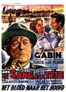Le sang à la tête - Belgian Movie Poster (xs thumbnail)