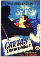 The 13th Letter - Spanish Movie Poster (xs thumbnail)