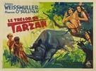 Tarzan's Secret Treasure - French Movie Poster (xs thumbnail)