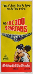 The 300 Spartans - Australian Movie Poster (xs thumbnail)