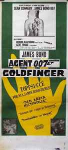 Goldfinger - Swedish Movie Poster (xs thumbnail)