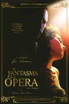 The Phantom Of The Opera - Spanish Movie Poster (xs thumbnail)