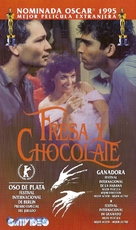 Fresa y chocolate - Argentinian VHS cover (xs thumbnail)