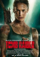 Tomb Raider - German Movie Poster (xs thumbnail)