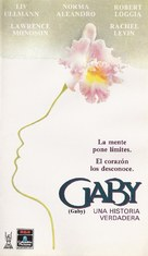 Gaby: A True Story - Mexican VHS movie cover (xs thumbnail)