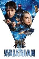 Valerian and the City of a Thousand Planets - Hungarian Movie Cover (xs thumbnail)