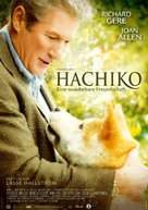 Hachiko: A Dog's Story - German Movie Poster (xs thumbnail)