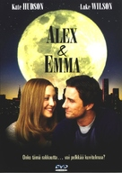 Alex & Emma - Finnish DVD movie cover (xs thumbnail)