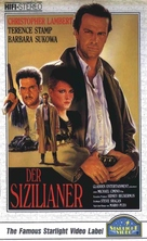 The Sicilian - German VHS cover (xs thumbnail)