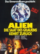 Alien 2 - Sulla terra - German Movie Poster (xs thumbnail)