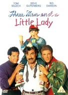 3 Men and a Little Lady - British DVD movie cover (xs thumbnail)