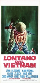 Loin du Vietnam - Italian Movie Poster (xs thumbnail)