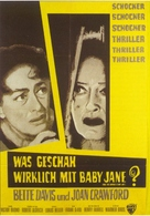 What Ever Happened to Baby Jane? - German Movie Poster (xs thumbnail)