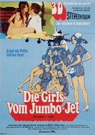 The Stewardesses - German Movie Poster (xs thumbnail)