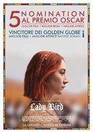 Lady Bird - Italian Movie Poster (xs thumbnail)