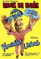 Taxi, Roulotte et Corrida - German Movie Poster (xs thumbnail)