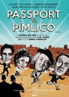 Passport to Pimlico - British Re-release movie poster (xs thumbnail)