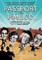 Passport to Pimlico - British Re-release poster (xs thumbnail)