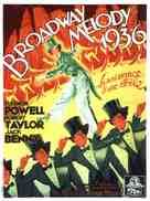 Broadway Melody of 1936 - French Movie Poster (xs thumbnail)