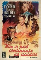 The Man from Colorado - Italian Movie Poster (xs thumbnail)