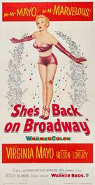 She's Back on Broadway - Movie Poster (xs thumbnail)