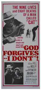 Dio perdona... Io no! - Australian Movie Poster (xs thumbnail)